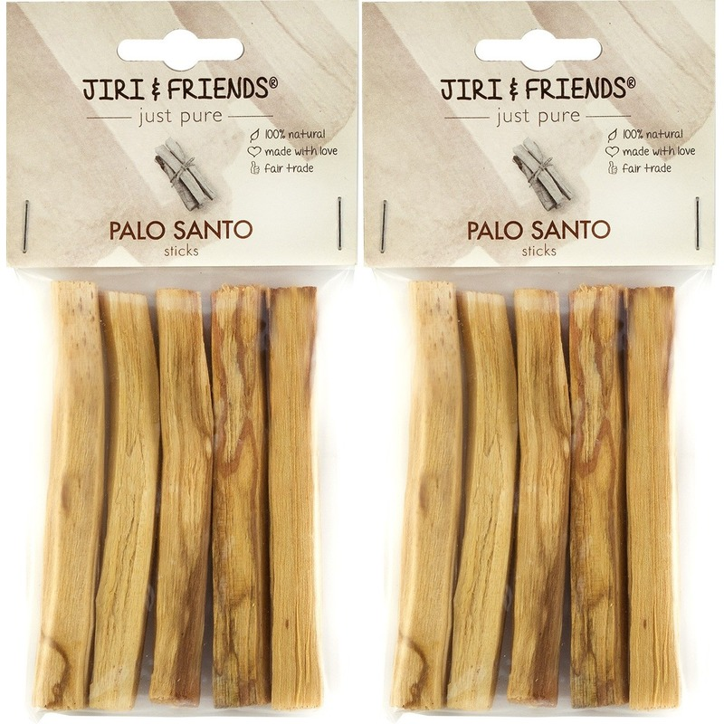 2x Zuiverende houten stokjes Palo Santo