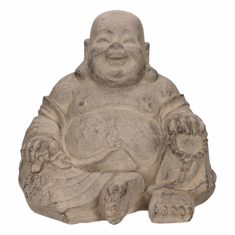 Boeddha beelden 24 cm happy