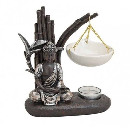 Boeddha oliebrandertje 20 cm