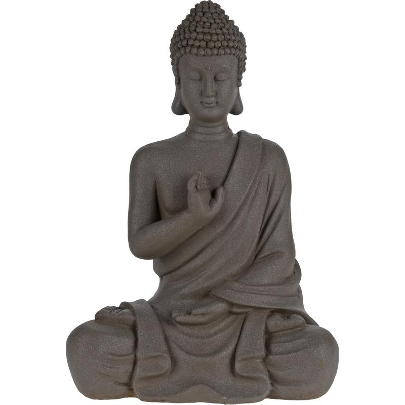 Boeddha tuinbeeld 30 cm