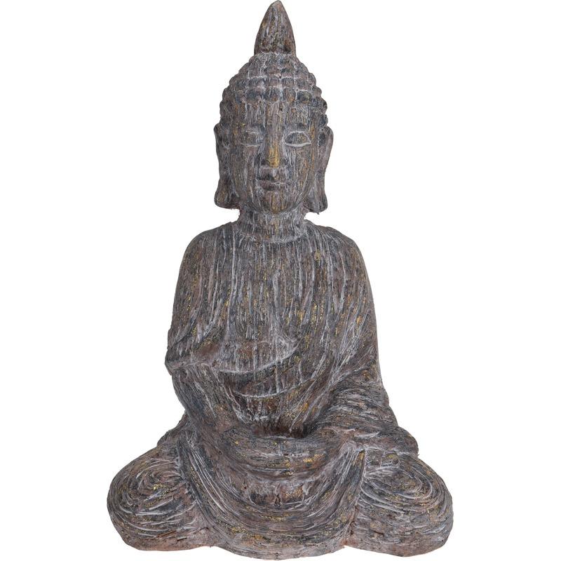 Boeddha tuinbeeld 40 cm