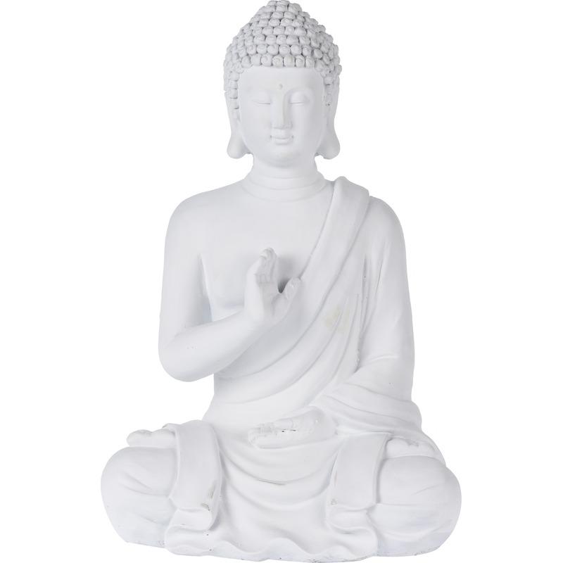 Boeddha tuinbeeld 41 cm