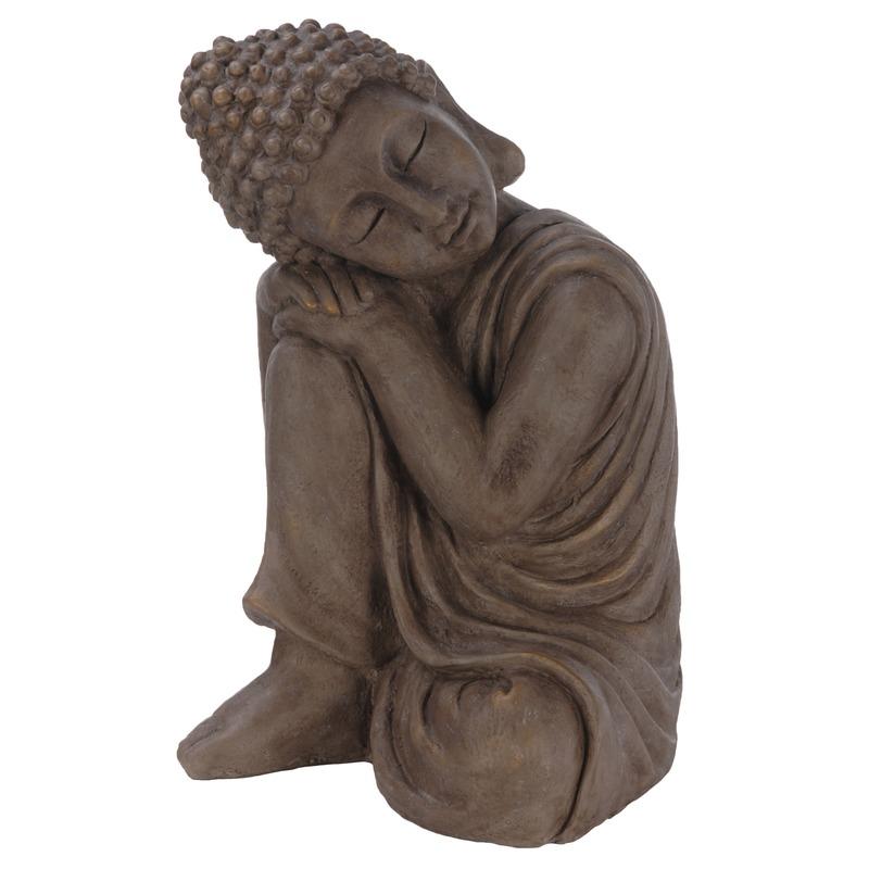 Boeddha tuinbeeld 44 cm
