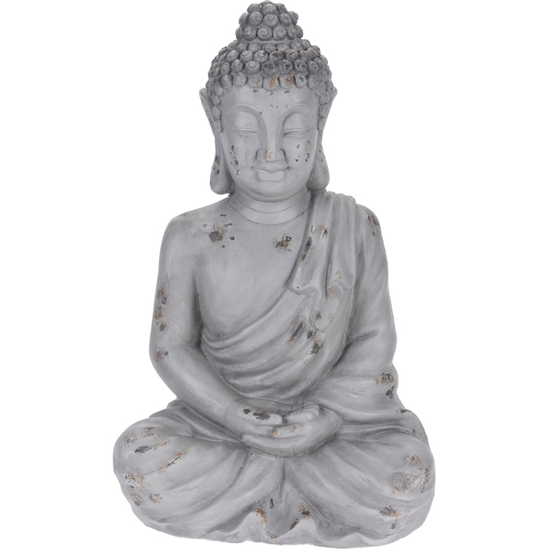 Boeddha tuinbeeld 54 cm