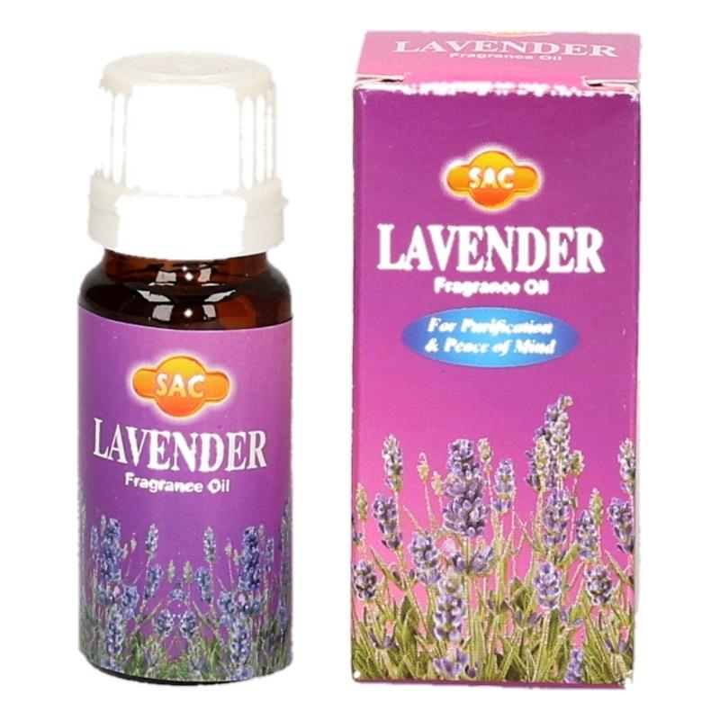 Geurolie lavendel 10 ml flesje