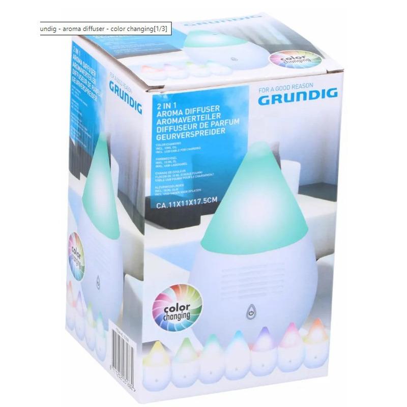 Luxe aroma diffuser - geurverstuiver met RGB licht