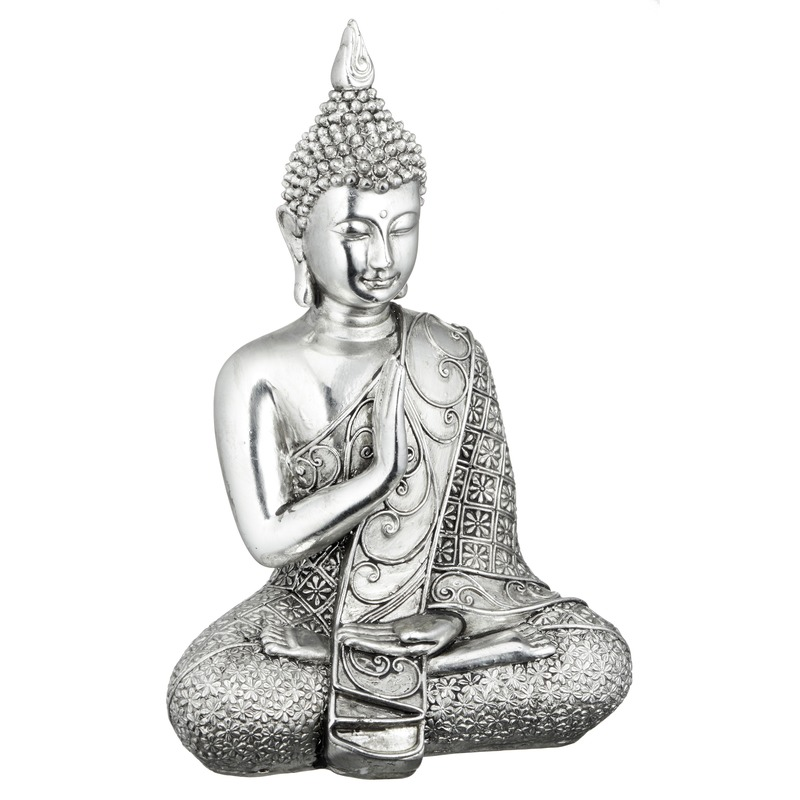 Mediterende Boeddha 17,5 cm