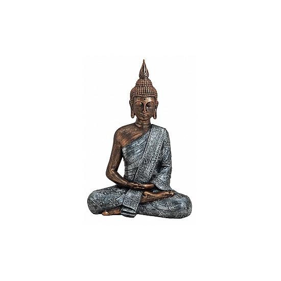 Polystone beeld Boeddha 40 cm