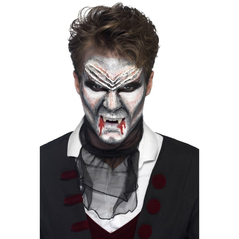 Halloween Zombie Schmink.Dracula Halloween Schmink Kit Vampier Dracula Schmink