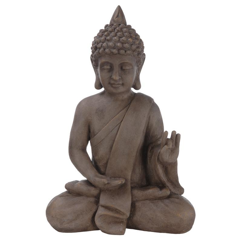 Thaise Boeddha tuinbeeld 54 cm