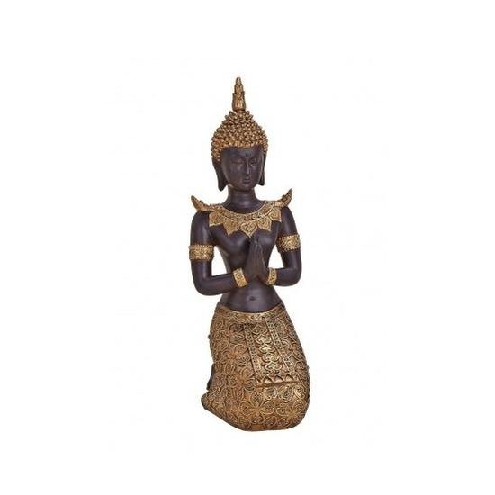 geenTuindecoratie boeddha beeld 27 cm type 1