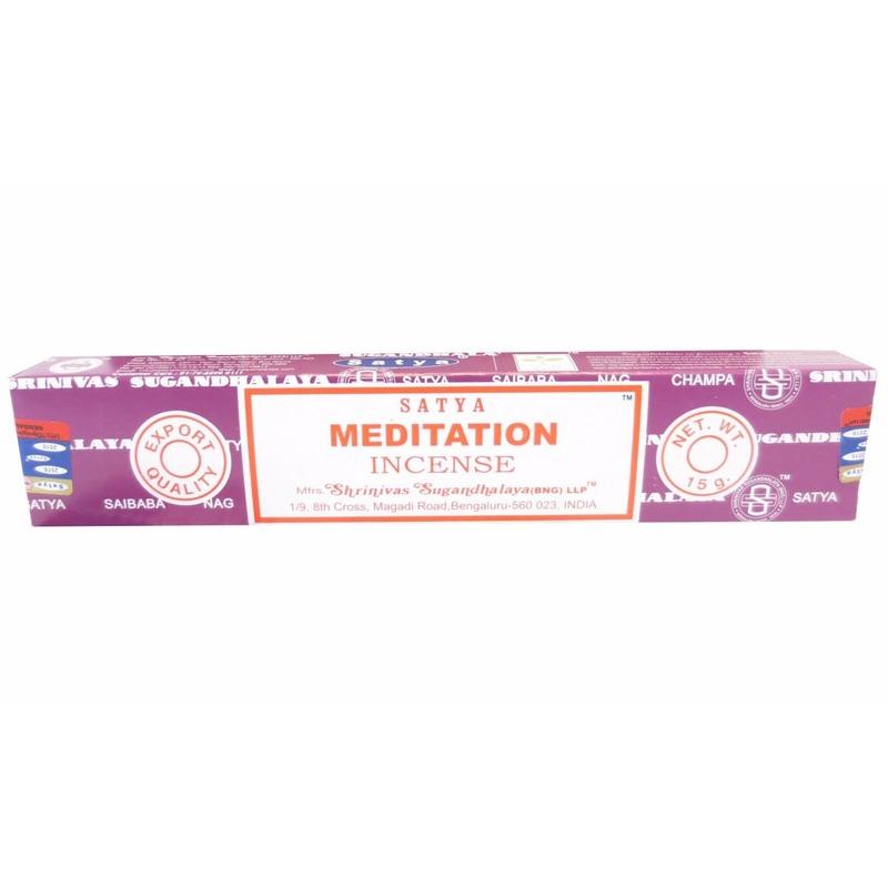Wierook jasmijnbloesem ontspanning/meditatie stokjes Nag Champa