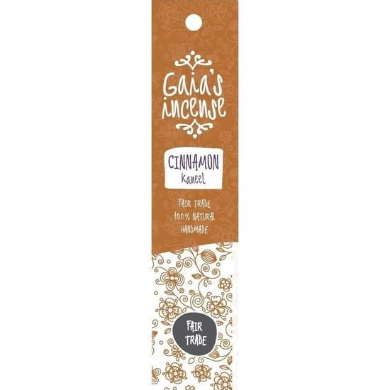 Wierook kaneel stokjes voor ontspanning Gaias Incense