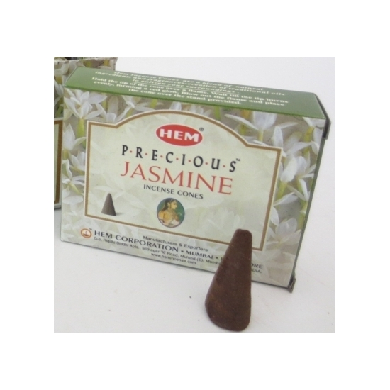 Wierook kegels met Jasmijn geur