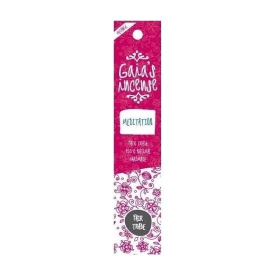 Wierook Meditatie stokjes voor ontspanning Gaias Incense