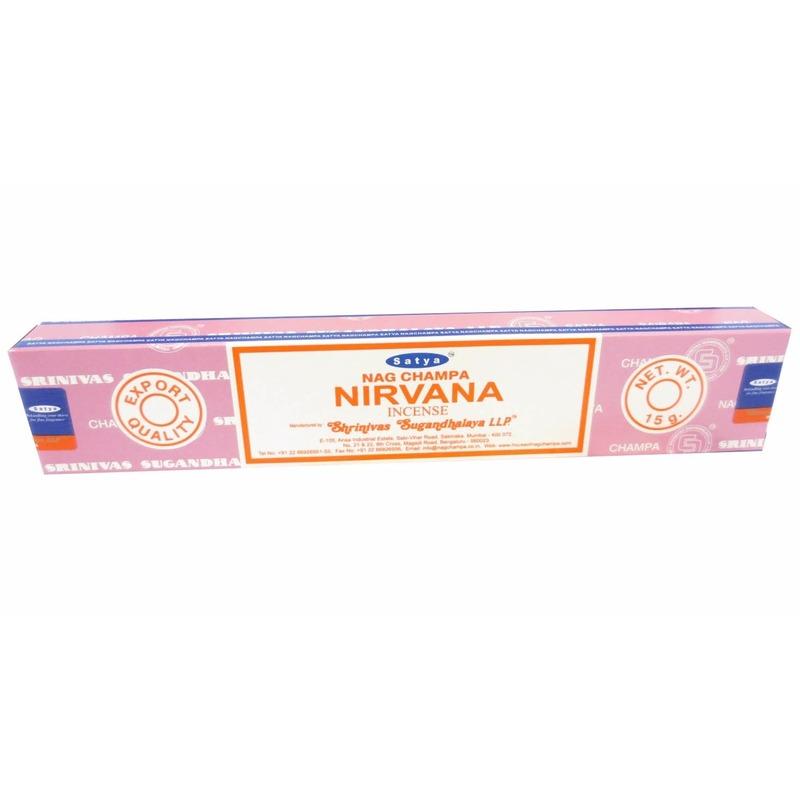 Wierook Nirvana ontspanning/meditatie stokjes Nag Champa
