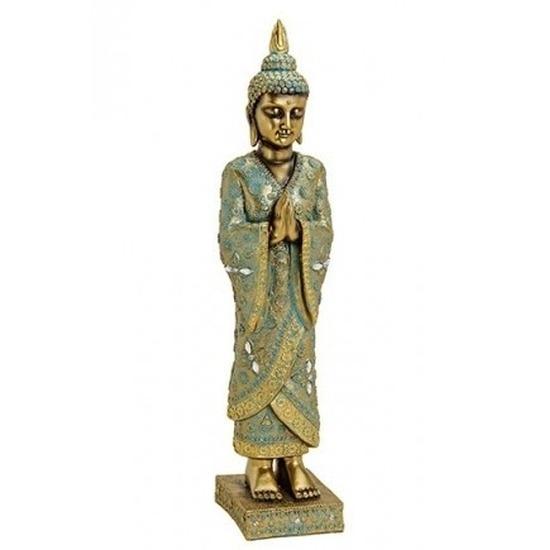 Woondecoratie boeddha beeld staand 55 cm